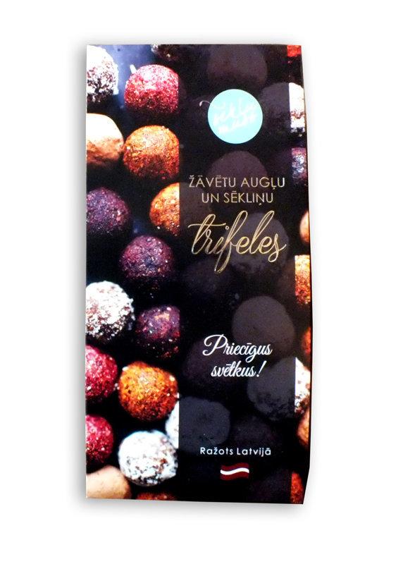 Sēkliņu trifeles ar kakao, truffles with cacao